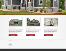 Falcone Custom Homes Website